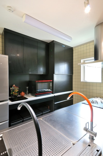 高級感たっぷりのキッチン収納 イメージ