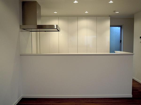 横からも使えるキッチン収納 イメージ