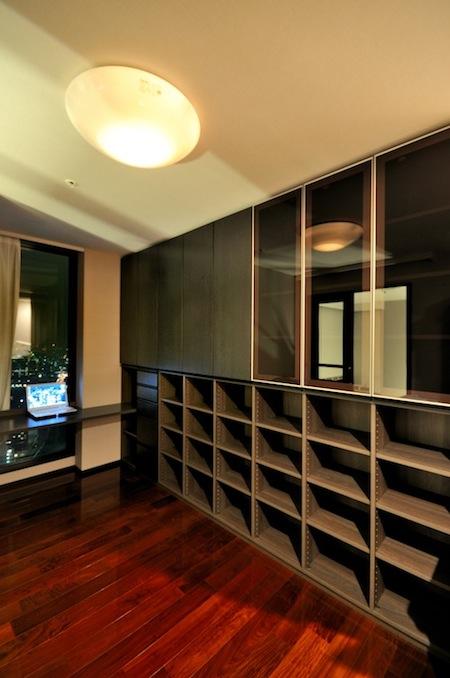書棚+デスク イメージ
