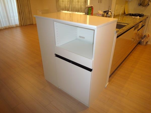 2方向から使えるキッチン収納 イメージ