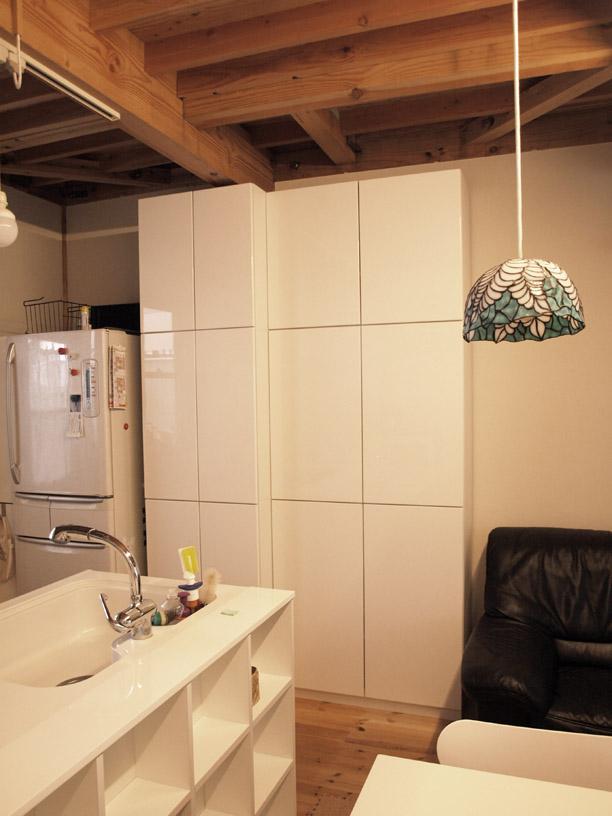 キッチン食器棚 イメージ