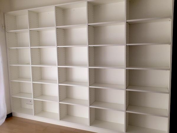 壁一面の書棚 イメージ
