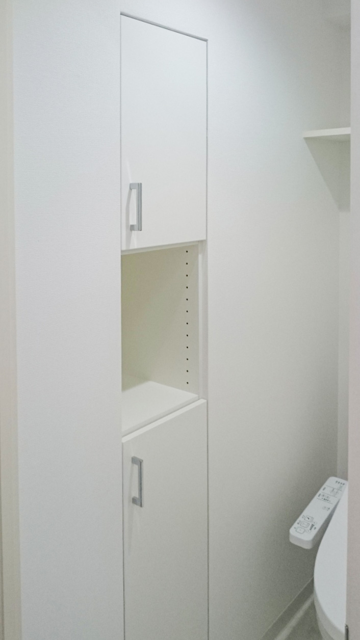 壁面埋め込み収納(トイレ・物入) イメージ